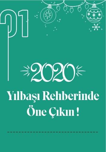 2020 Yılbaşı Otelleri