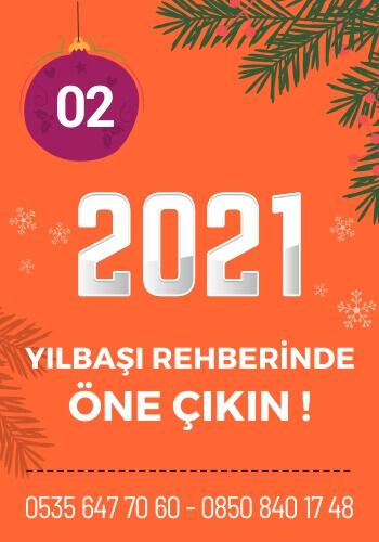 2021 Yılbaşı Meyhaneleri