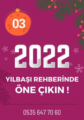 2022 Yılbaşı Partileri