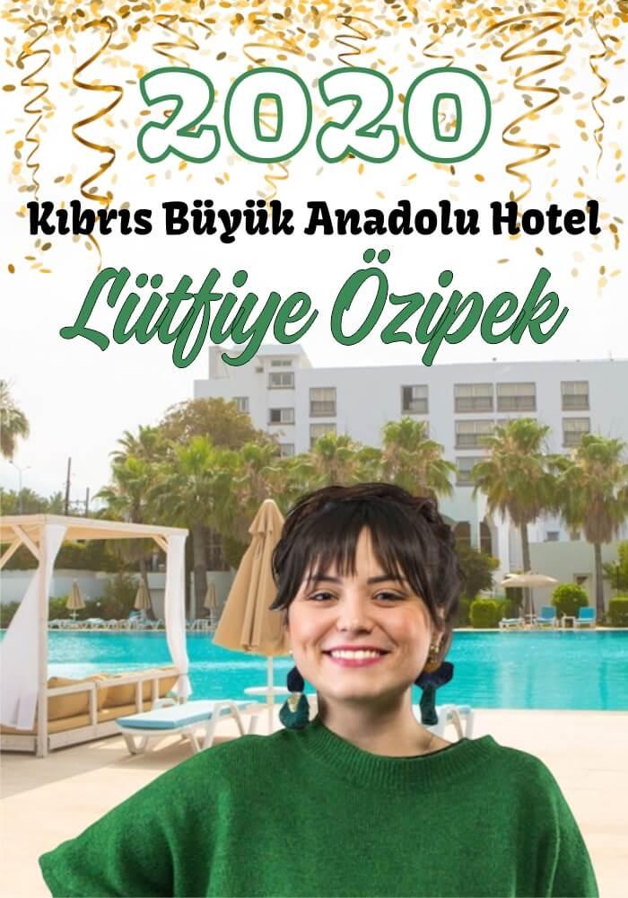 2020 Kıbrıs Büyük Hotel Yılbaşı Galası