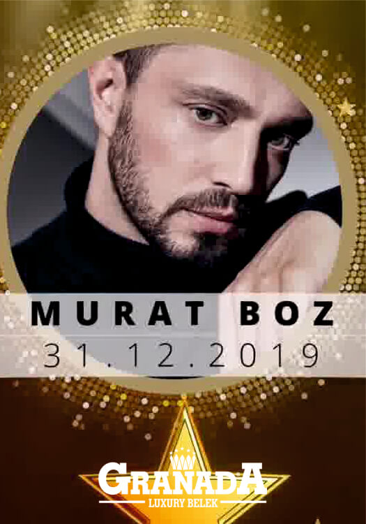 Murat Boz 2020 Yılbaşı Programı Antalya Granada Luxury Hotel