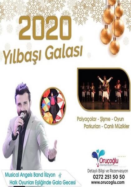 Afyon Oruçoğlu Termal Hotel Yılbaşı Programı 2020