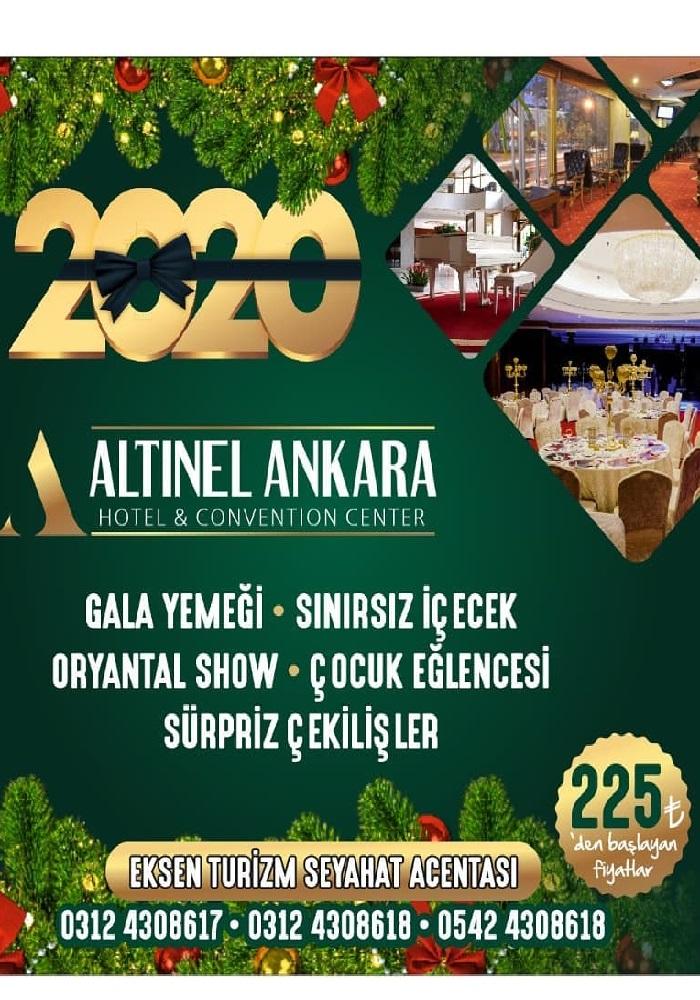 Altınel Hotel Ankara Yılbaşı Programı 2020