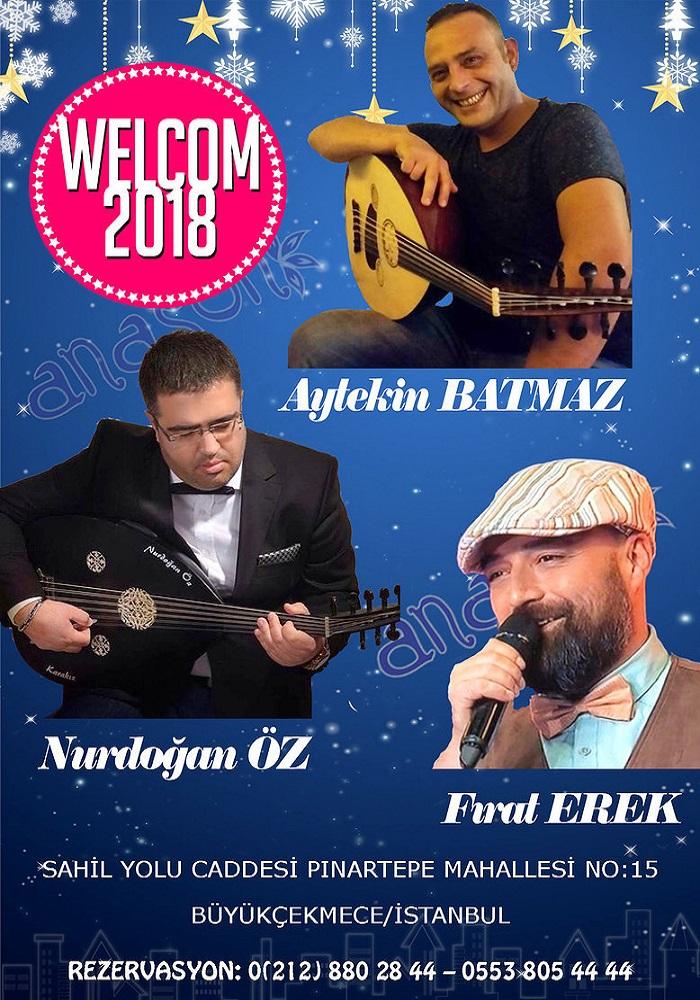 Anason Meyhanesi İstanbul Yılbaşı 2018