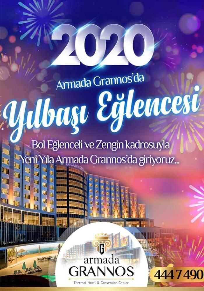 Ankara Armana Grannos Otel Yılbaşı Programı 2020