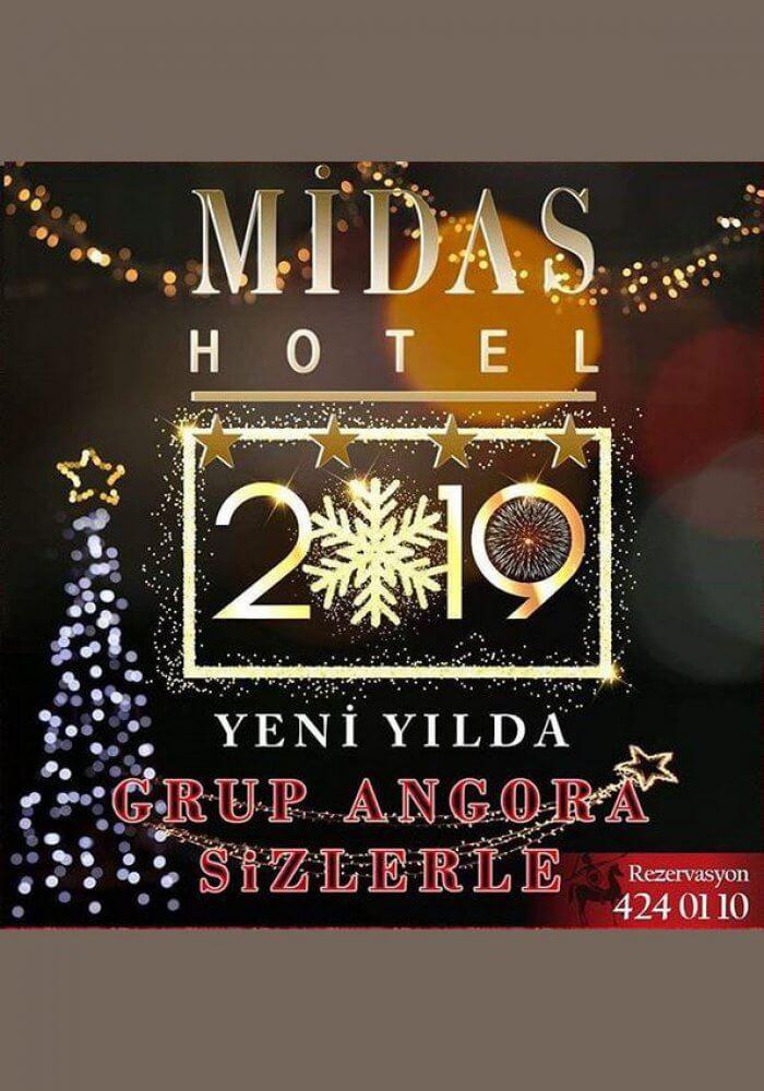Ankara Midas Hotel Yılbaşı Programı 2019