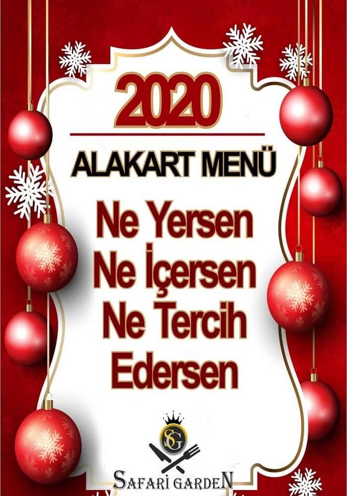 Ankara Safari Garden Restaurant Yılbaşı Programı 2020