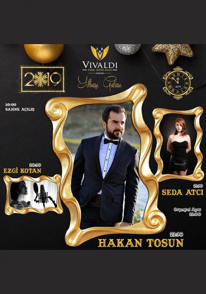 Ankara Vivaldi Park Hotel 2019 Yılbaşı Programı