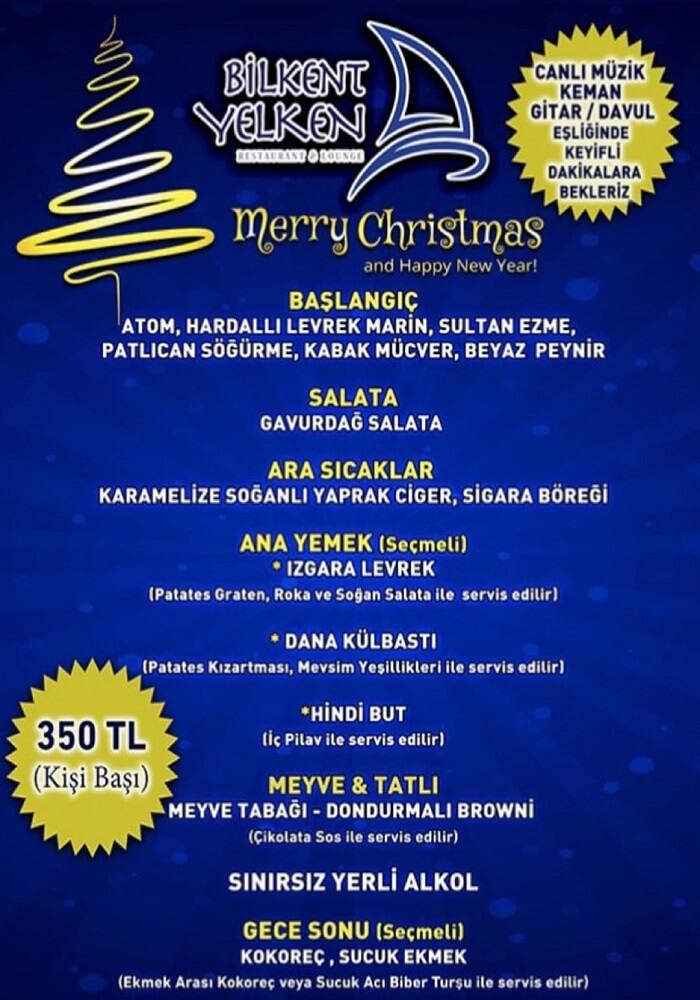 Ankara Yelken Restaurant Yılbaşı Programı 2020