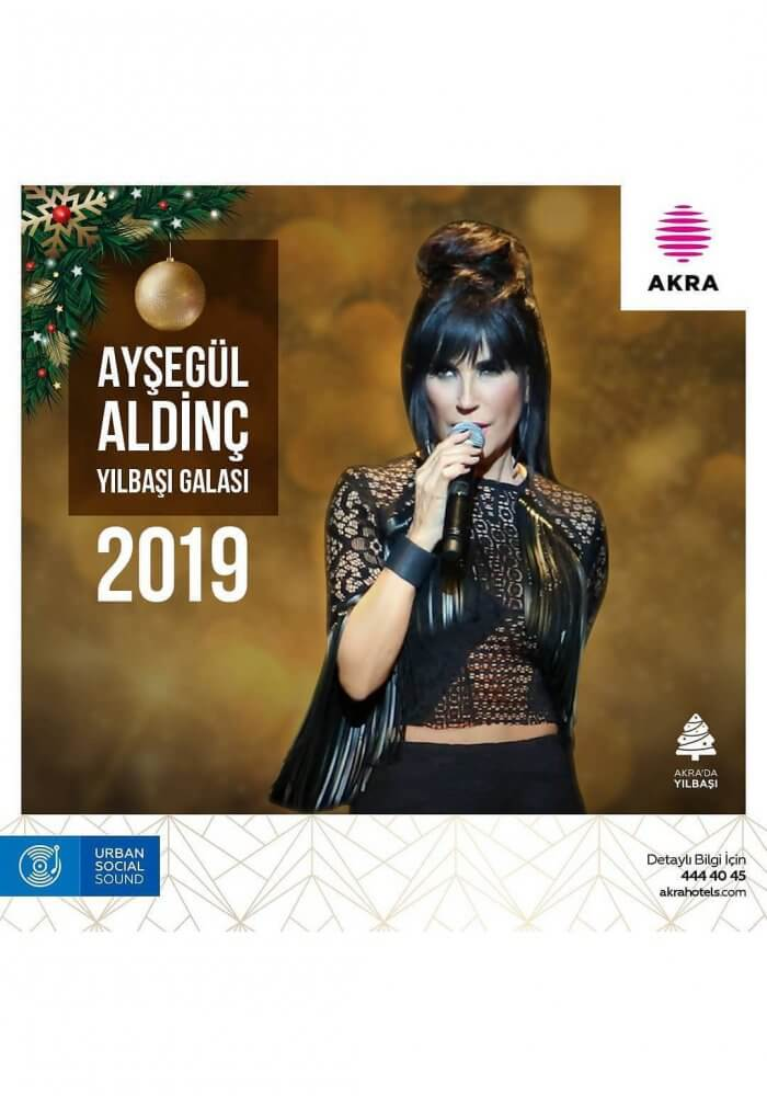 Antalya Akra Barut Hotel Yılbaşı 2019 Programı