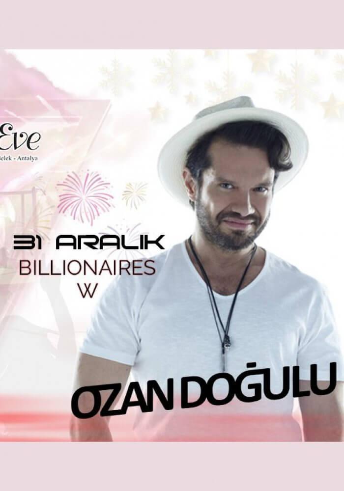 Antalya Belek Adam & Eve Hotel 2019 Yılbaşı Programı
