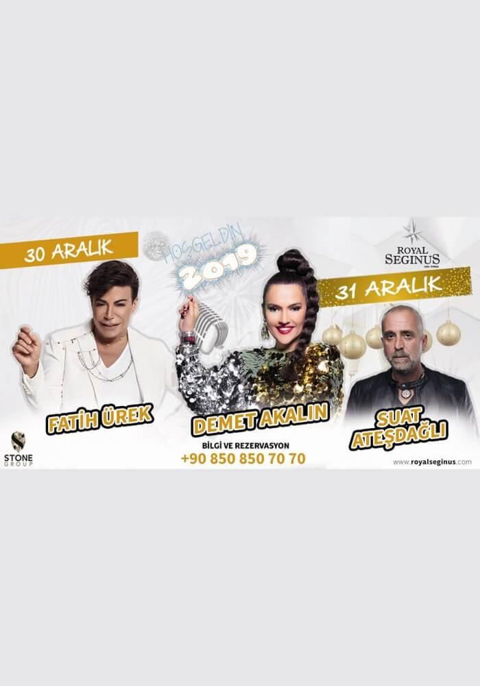 Antalya Royal Seginus Hotel 2019 Yılbaşı Programı