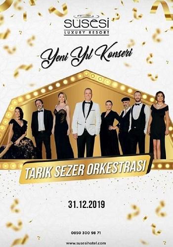 Tarık Sezer Orkestrası ile Antalya Susesi Luxury Resort 2020 Yılbaşı Galası