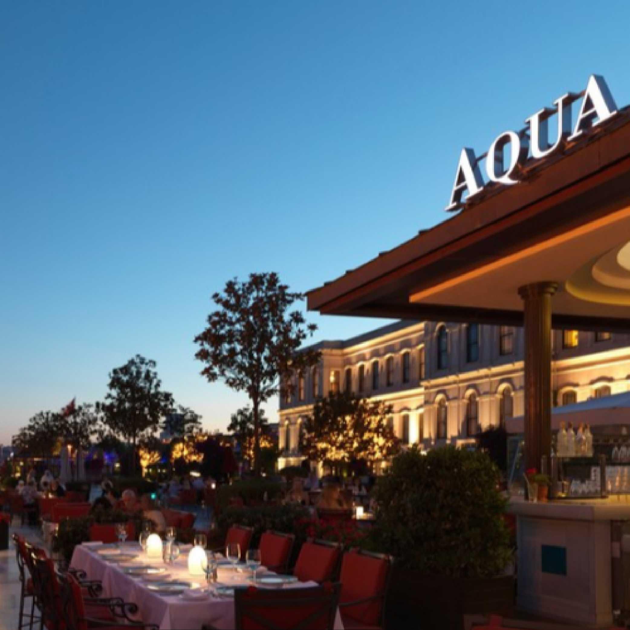 İstanbul Aqua Restaurant Beşiktaş