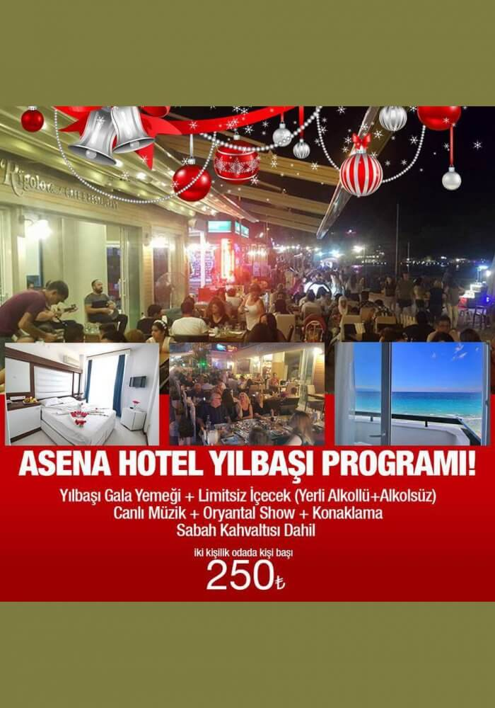 Asena Hotel Yılbaşı 2018