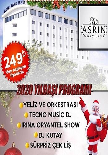 Asrın Park Otel Ankara Yılbaşı Programı 2020
