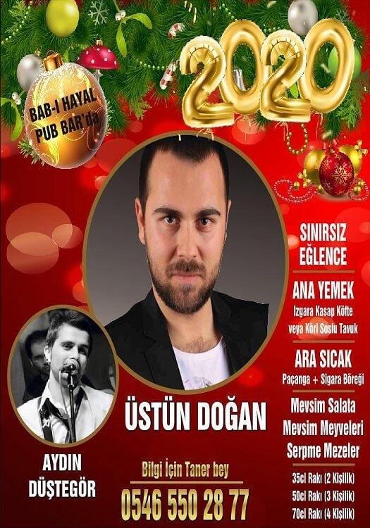 Bab-ı Hayal Pub Bar İstanbul Yılbaşı Programı 2020