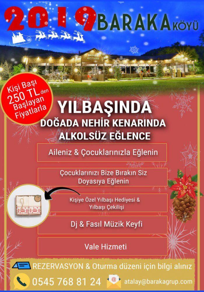 Baraka Köyü 2019 Yılbaşı Programı