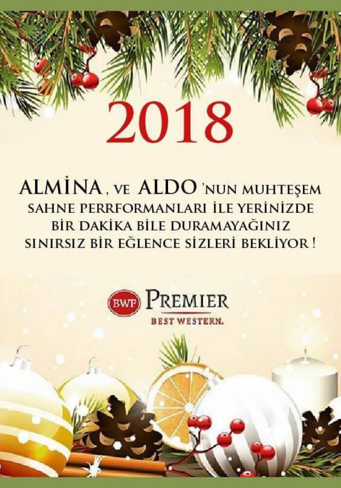 Best Western Premier Karşıyaka Yılbaşı 2018