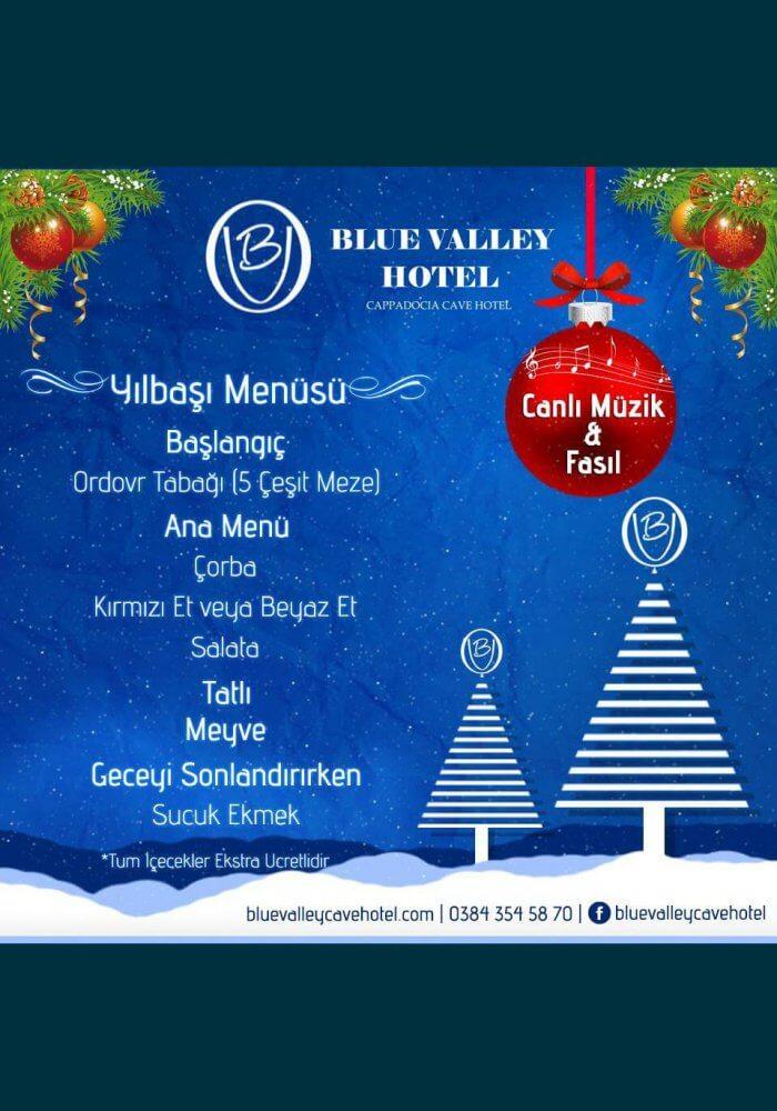 Blue Valley Cave Hotel Ürgüp Yılbaşı 2018