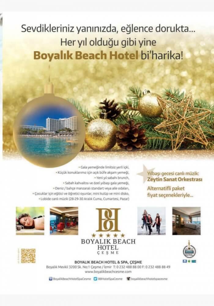 Boyalık Beach Hotel Çeşme Yılbaşı