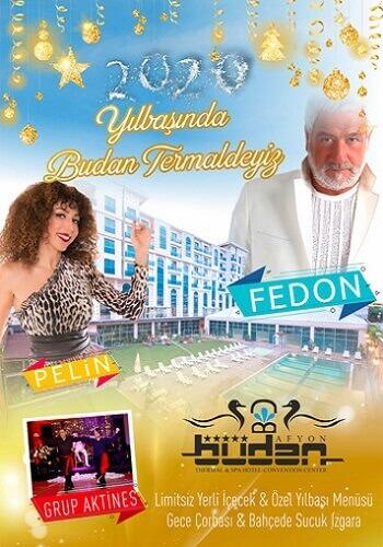 Fedon ve Pelin ile Budan Termal Otel Spa 2020 Yılbaşı Programı