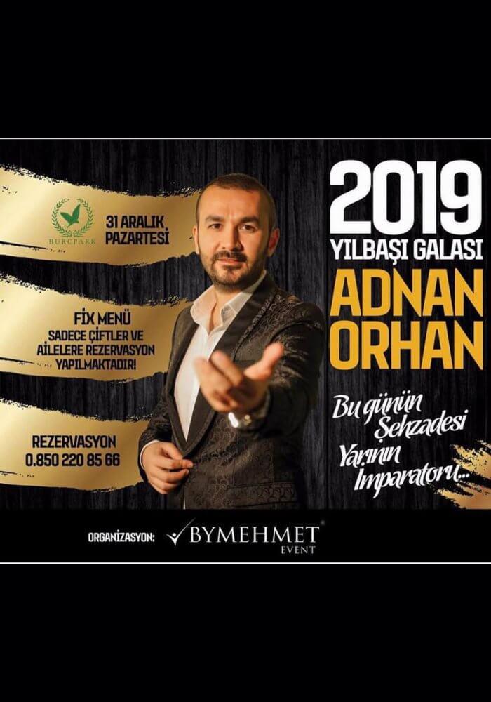 Burç Park Gaziantep 2019 Yılbaşı Programı