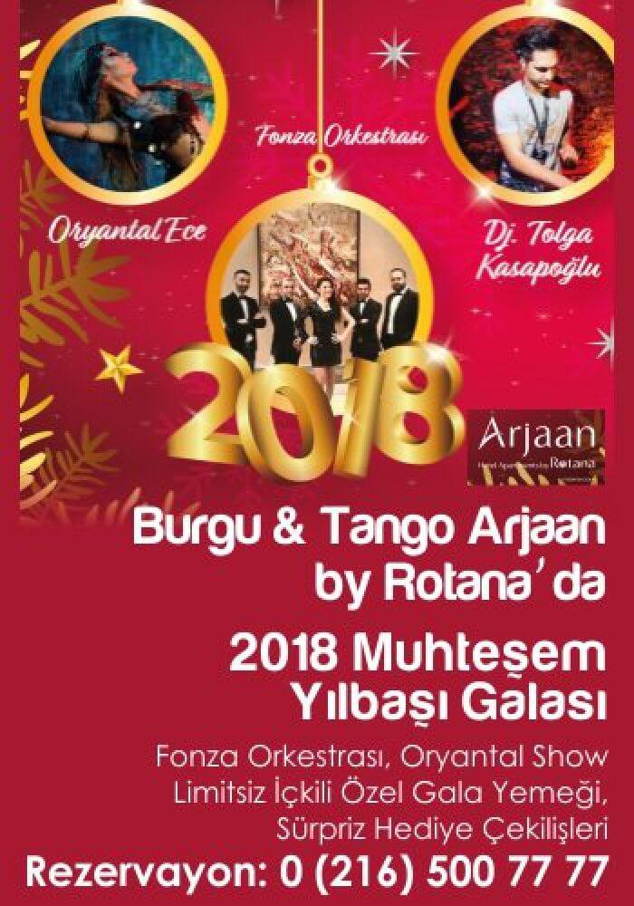 Burgu & Tango Arjaan by Rotana Yılbaşı 2018