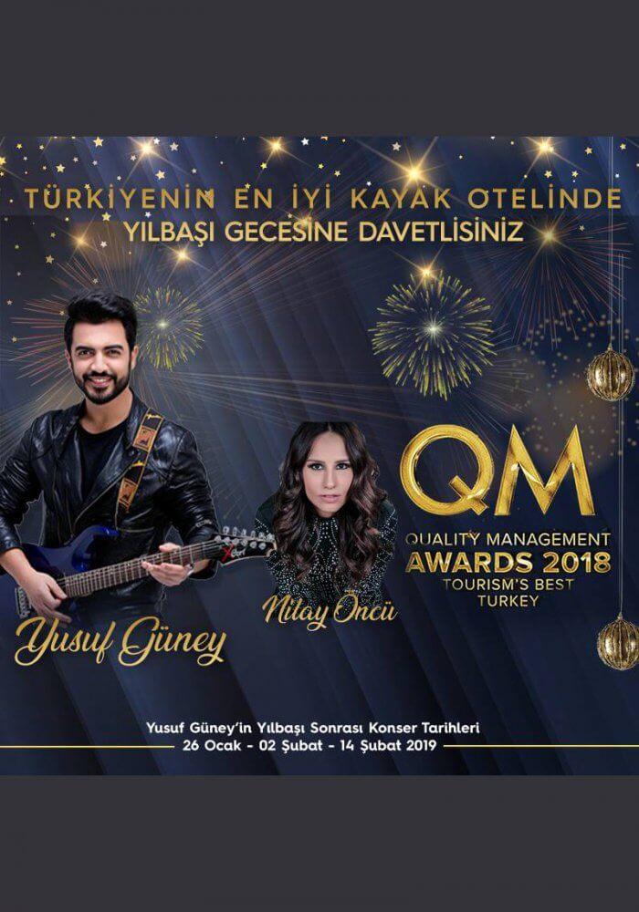 Bursa Uludağ BOF Hotel Yılbaşı Programı 2019