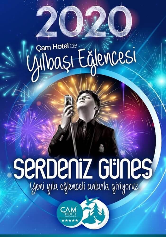 Çam Otel Ankara Yılbaşı Programı 2020