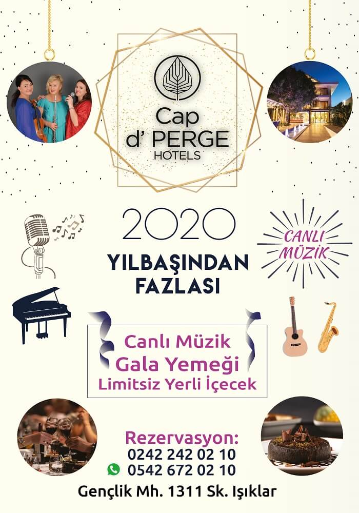 Cap d' Perge Hotel Antalya Yılbaşı Programı 2020