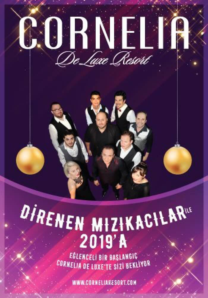 Cornelia Deluxe Resort Hotel 2019 Yılbaşı Programı