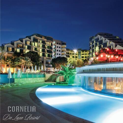 Cornelia Deluxe Resort Hotels Belek Antalya
