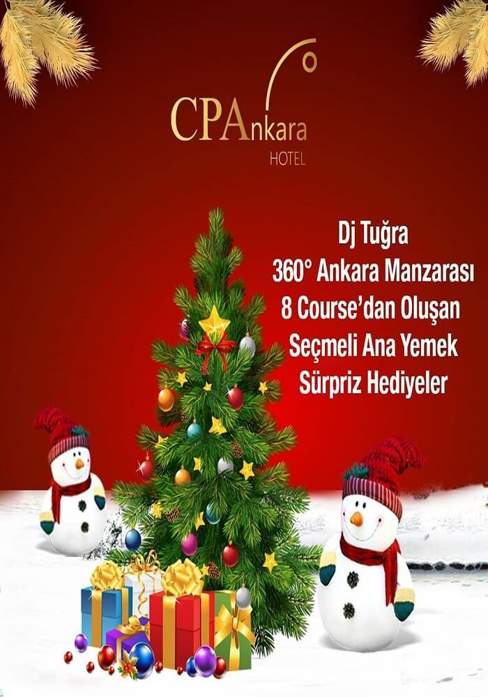 CPAnkara Hotel Yılbaşı Programı 2020