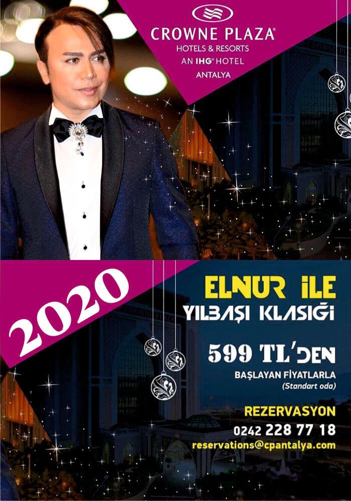 Crowne Plaza Antalya Yılbaşı Programı 2020