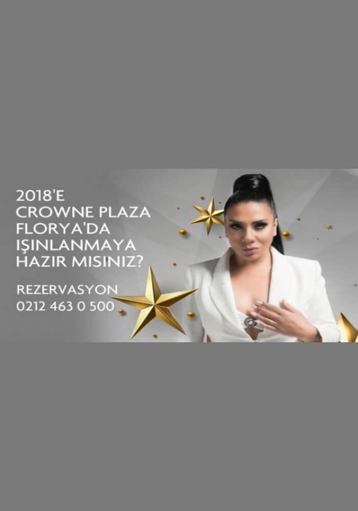 Crowne Plaza Florya Yılbaşı 2018