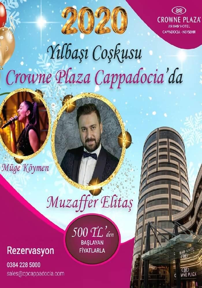 Crowne Plaza Hotel Kapadokya Yılbaşı Programı 2020