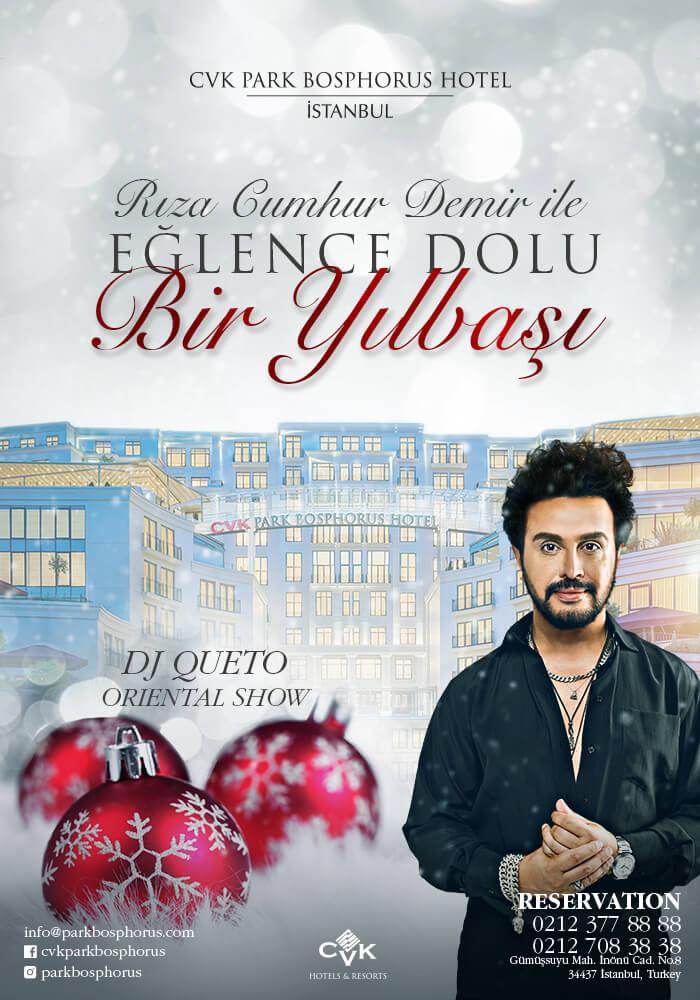 CVK Park Bosphorus Hotel İstanbul Yılbaşı Programı 2020