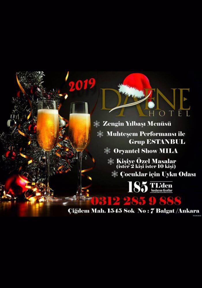 Dafne Otel 2019 Yılbaşı Programı