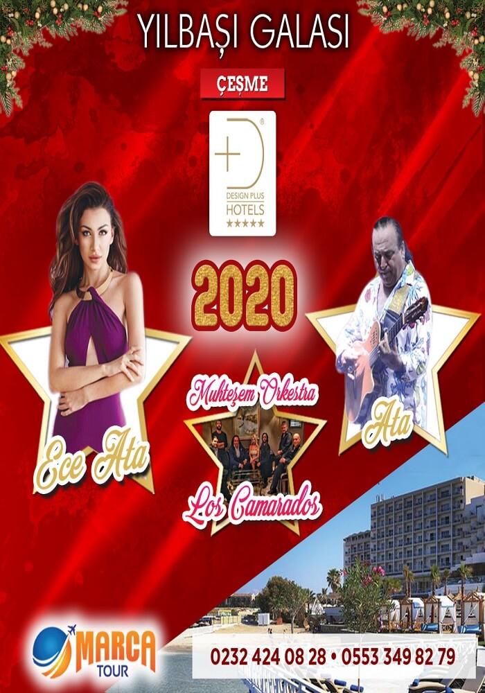 Design Plus Hotels Alaçatı Yılbaşı Programı 2020
