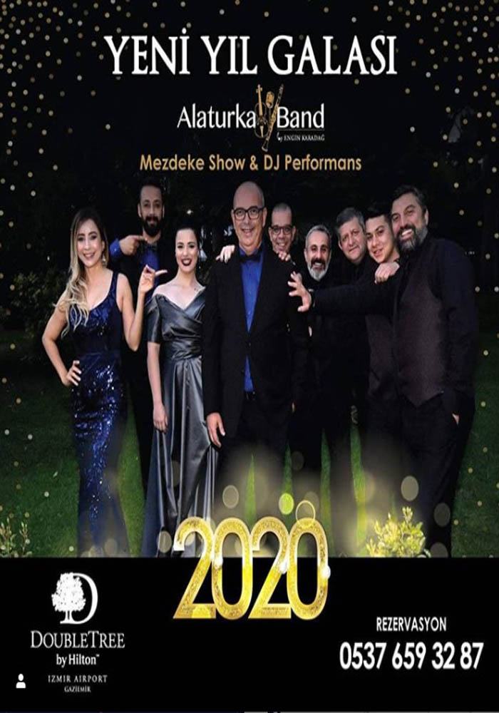 DoubleTree by Hilton İzmir Airport Yılbaşı Programı 2020