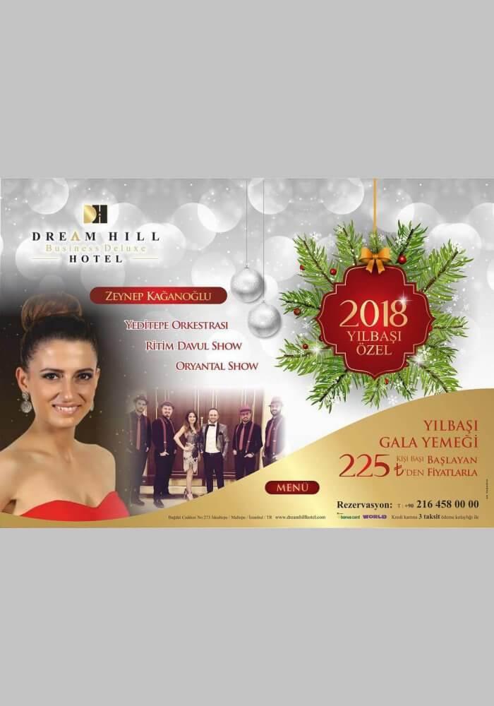 Dream Hill Business Hotel Yılbaşı 2018