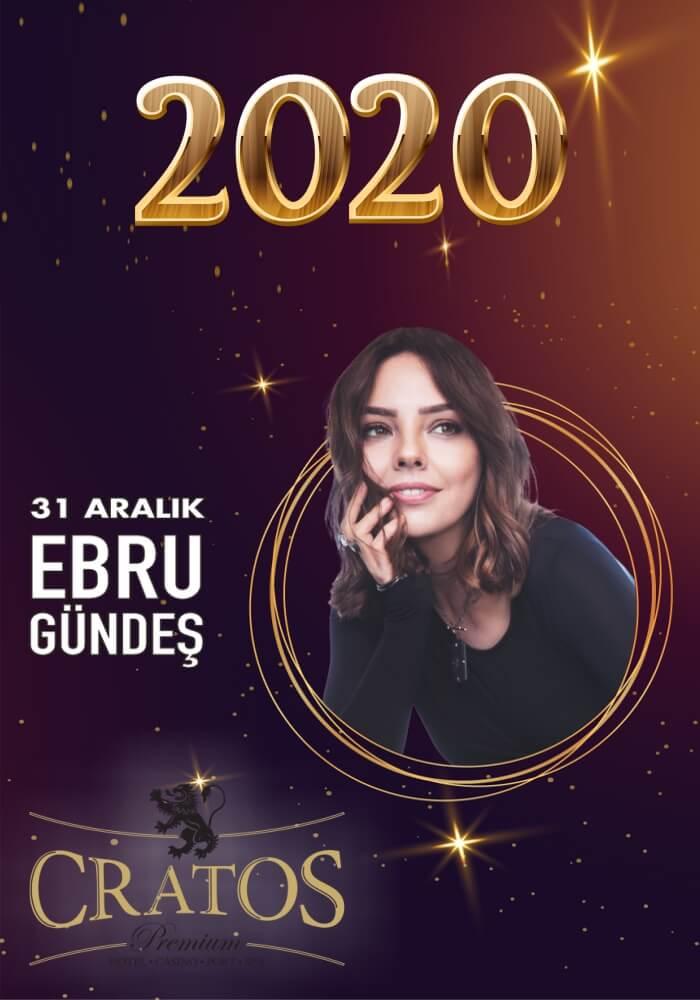 Ebru Gündeş ile Kıbrıs Cratos Premium Hotel'de Yılbaşı Programı 2020