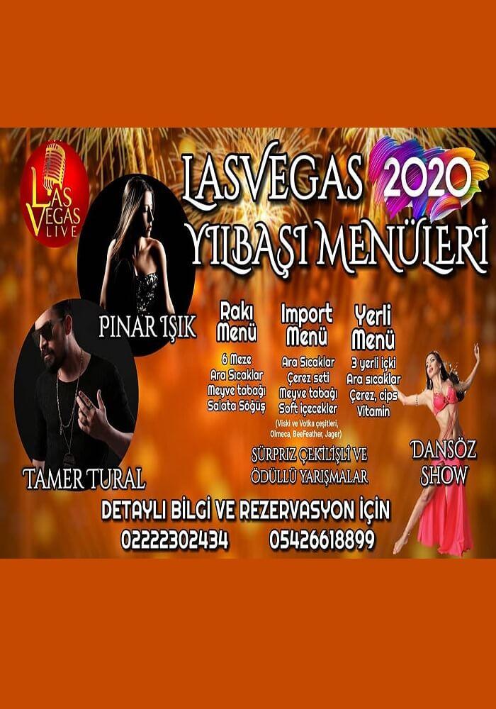 Eskişehir Las Vegas Live Yılbaşı Programı 2020