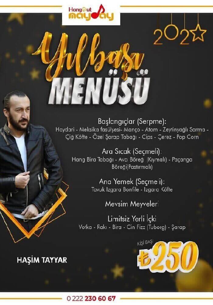 Eskişehir Mayday Hangout Yılbaşı Programı 2020