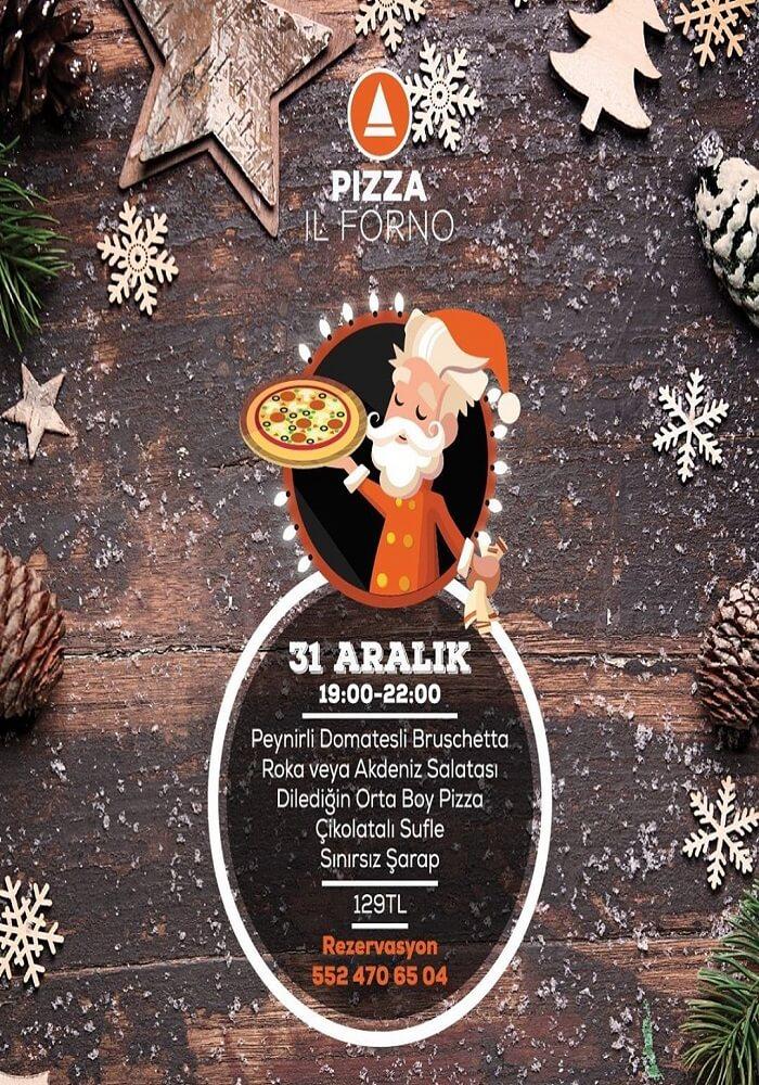Eskişehir Pizza Il Forno Yılbaşı Programı 2020