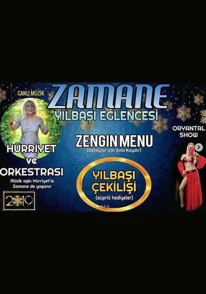 Eskişehir Zamane Meyhane Yılbaşı Programı 2019