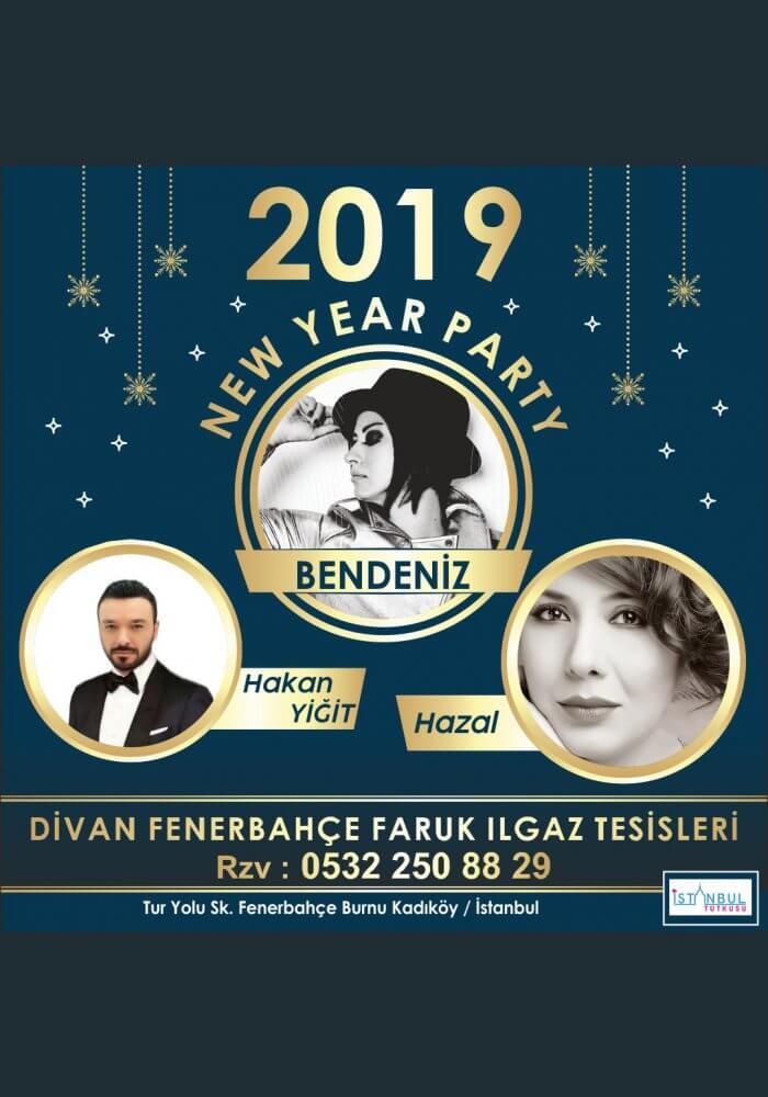 Fenerbahçe Divan Faruk Ilgaz Tesisleri 2019 Yılbaşı Programı