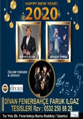 Fenerbahçe Divan Faruk Ilgaz Tesisleri Yılbaşı Programı 2020