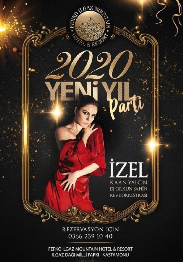 İzel ve Kaan Yalçın ile Ferko Ilgaz Mountain Hotel & Resort 2020 Yılbaşı Programı